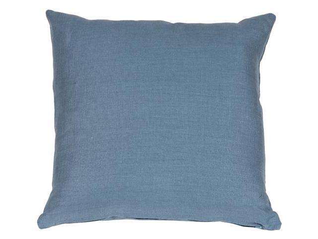 Wedgewood Blue Throw Pillows : Pillow Decor - Tuscany Linen Wedgewood Blue 20x20 Throw Pillow - Newegg.com
