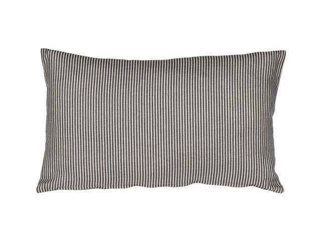 Wedgewood Blue Throw Pillows : Pillow Decor - Ticking Stripe Wedgewood Blue 12x20 Throw Pillow - Newegg.com