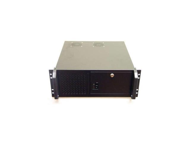 Logisys Cs4801 No Power Supply 4U Industrial Rackmount Server Chassis (Black)