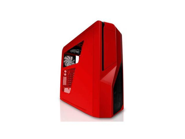 Phantom 410 No Power Supply Atx Mid Tower Case (Red)