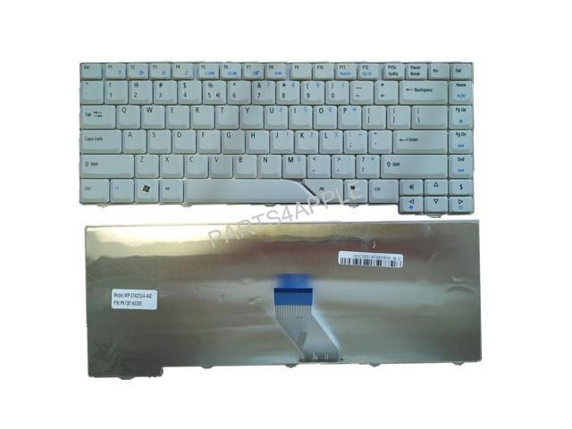 Laptop Keyboard for Acer Aspire 4210 4220 4310 4315 4320 4510 4520 4710 4720 4910 4920 5220 5310 5315 5320 5235 5535 5520 5710 5715 5720 5910 5920 5930 6920 White