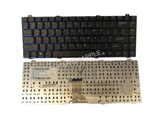 Laptop Keyboard for Gateway M-16 M-1600 Series M-1622 M-1625 M-1628 M-1629