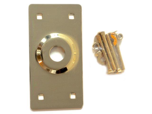 Tuff Stuff 314 Polished Brass Rim Lock Cylinder Guard