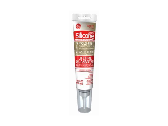 ge clear silicone caulk how to open