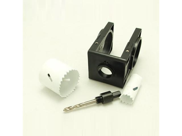 Wood Door Lock Installation Kit : Tuff stuff bi metal hole saw door lock