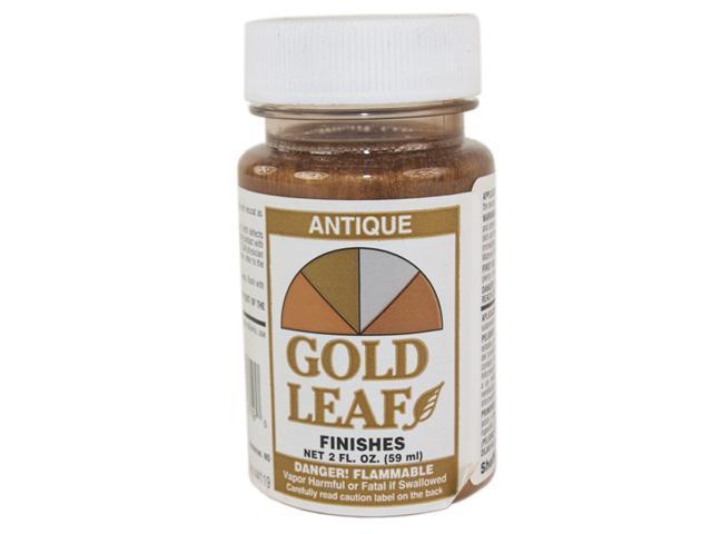 sheffield gold leaf metallic 2 oz bottle antique gold leaf finish