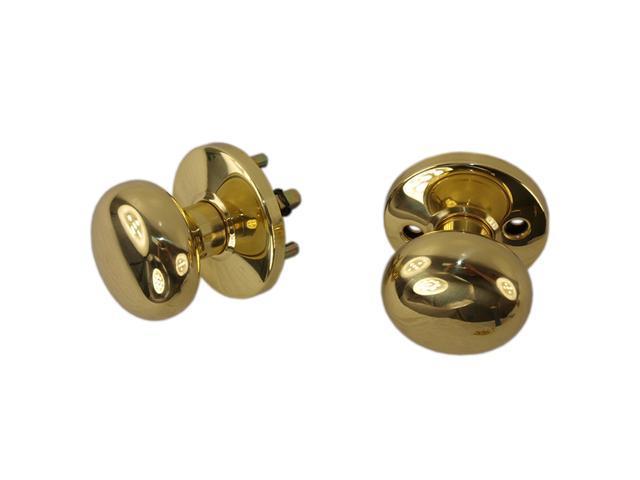 Tuff Stuff 3004 Solid Brass Knob Rose Assembly Kit Thru