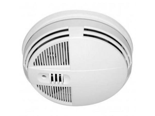 "Smoke Detector Camera for Xtreme Lifeâ""¢ Wireless (bottom view) Night Vision"