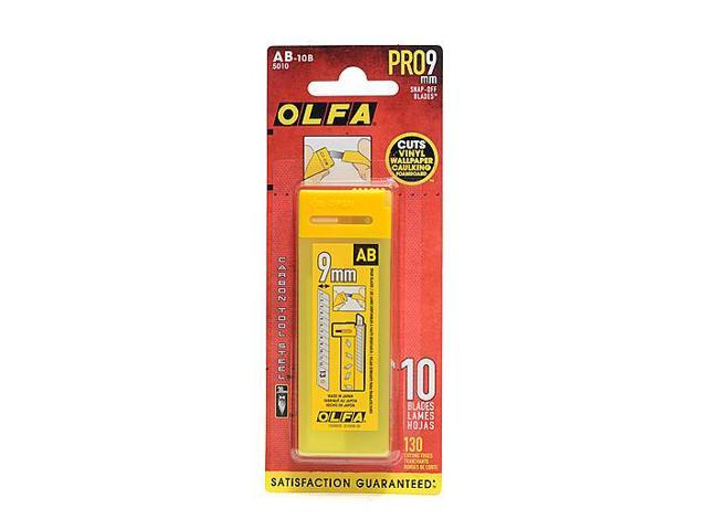 Olfa Cutter Replacement Blades - 10/pack