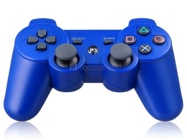 Six-Axis DualShock Wireless Controller for PlayStation 3 (Blue)