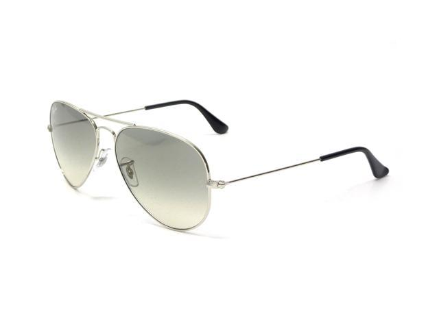 d836388a96 Ray Ban 3025 Aviator Silver 004 78 Polarised 55mm