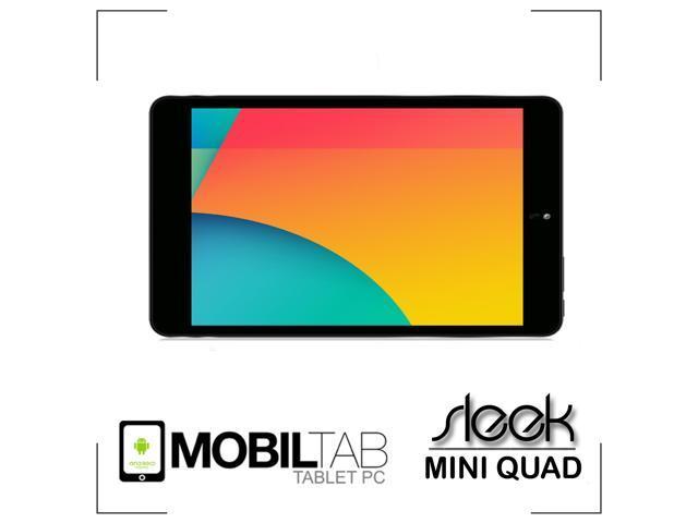 "Mobiltab Inc Android Tablet 7.9"" inch Mobiltab Sleek Quad Core 1.8 GHZ RK3188 HD IPS Dual Camera"