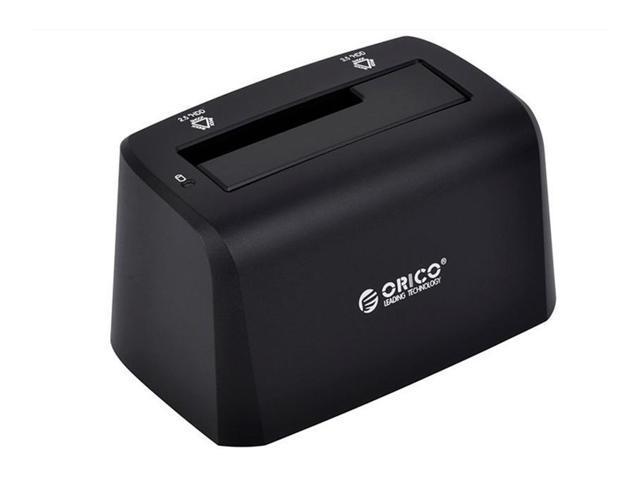ORICO 2.5 inch and 3.5 inch SATA USB3.0 Hard Drive Docking Station EU Plug(Black)