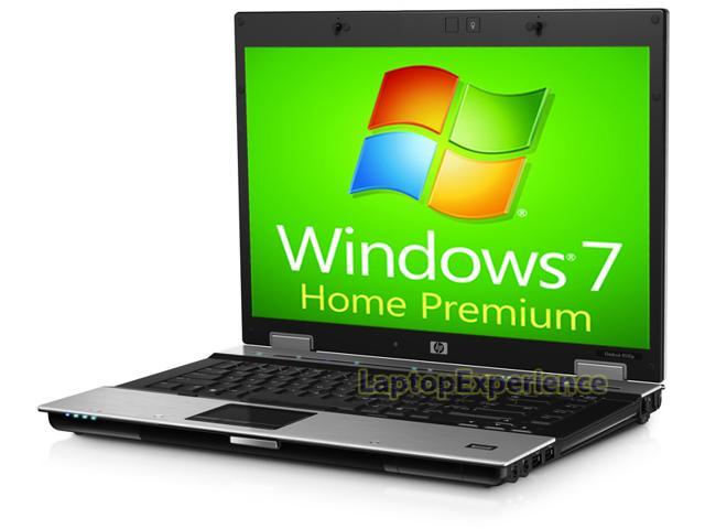 HP Elitebook 8530p Laptop Notebook Computer - Core 2 Duo 2.40ghz - 2GB DDR2 - 160GB HDD - DVD+CDRW - Windows 7 Home Premium 64bit