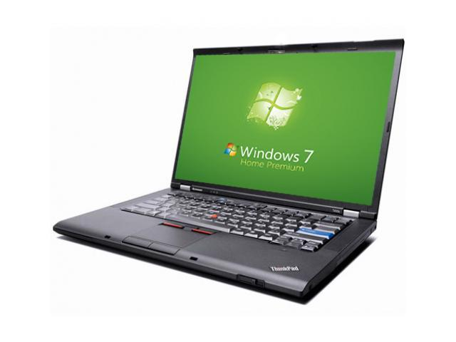 Lenovo Laptop ThinkPad T400 Notebook - WEBCAM - Core 2 Duo 2.40GHz - 4GB DDR3 - 160GB - DVD+CDRW - Windows 7 Home Premium 64bit ...