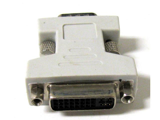 New DVI Female to VGA Male adapter DVI-I dual link 24+5