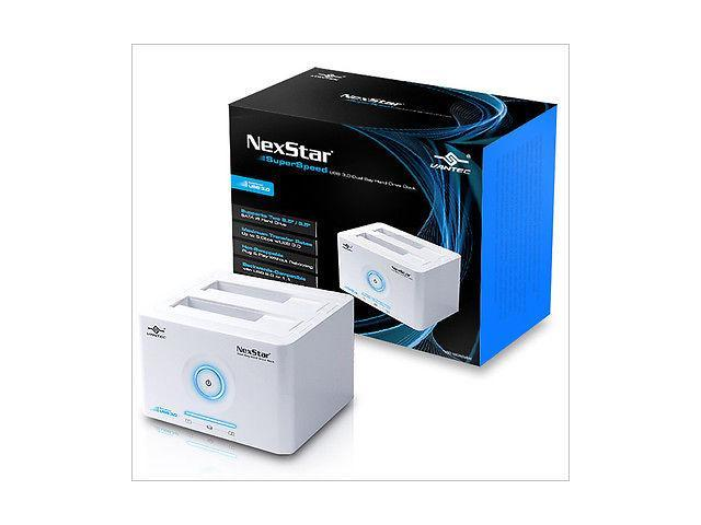 Vantec NexStar NST-D200SU External SATA to USB2.0&eSATA Dual Bay Hard Drive Dock