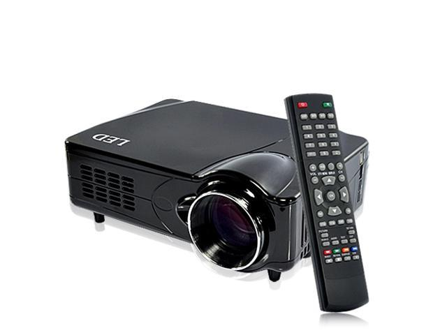 MediaMax Pro - DVB-T Multimedia Projector - Black (TV Record, HDMI/VGA/AV Out)
