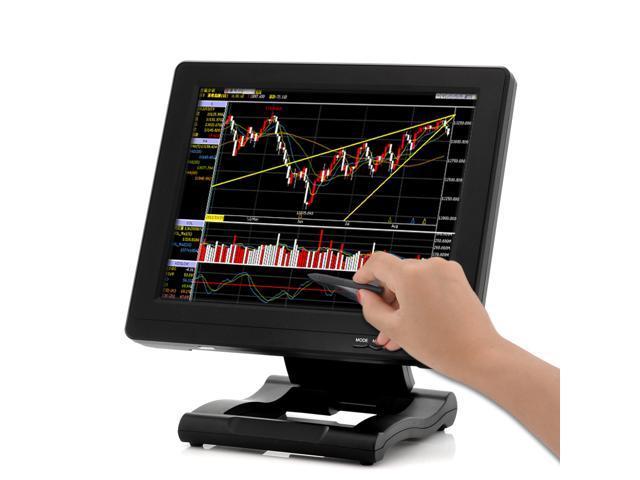 12.1 Inch TFT LCD Touch Screen Monitor (800x600, 800:1, VGA/HDMI/DVI/AV Input)