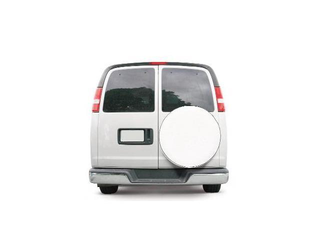 Classic Accessories 75170 Custom Fit Spare Tire Cover - Snow White - Model 8