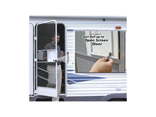 Amerimax Rv Screen Door Slide 12 Quot L X 11 7 8 Quot W White 302