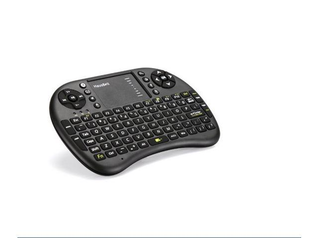 Hausbell ® Mini H7 2.4GHz Wireless Entertainment Keyboard with Touchpad for PC, Pad, Andriod TV Box, Google TV Box, Xbox360, PS3 & HTPC/IPTV