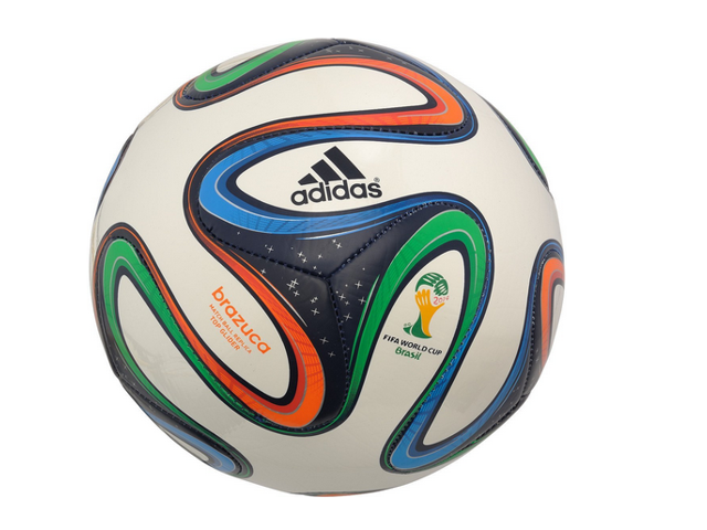 adidas Brazuca FIFA 2014 World Cup Top Glider Soccer Ball