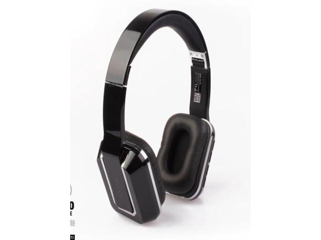 Wireless headband Bluetooth V3.0 foldable headset for Iphone , Samsung -Black