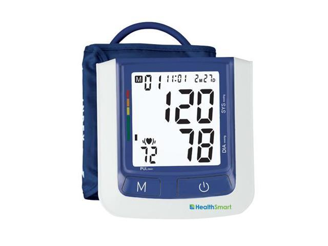 HealthSmart Select Automatic Arm Digital Blood Pressure Monitor, Large Cuff with AC Adapter