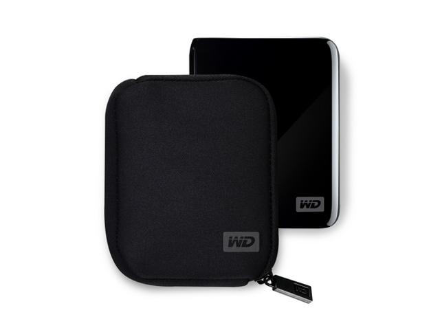 Western Digital My Passport Carrying Case - Black
