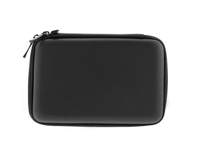 GTMax Hard Shell Carrying Case for Western Digital My Passport 500GB, 1TB, 2TB /My Passport Edge 500GB /My Passport Essential & More Portable External Hard Drives - Black *Includes Lanyard*