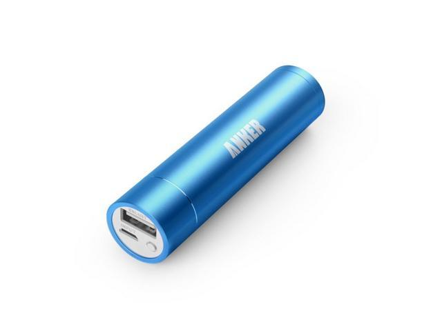 Anker Astro Mini 3000mAh Ultra-Compact Portable Charger Lipstick-Sized External ( AK-79AN3K-SA)