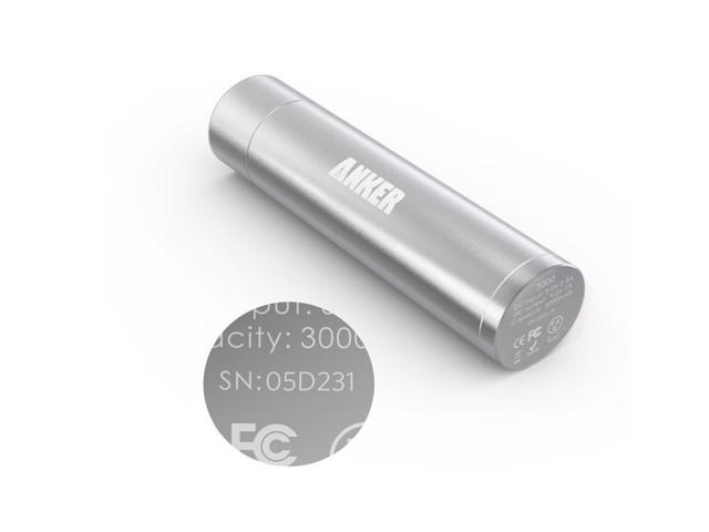 Anker® Astro Mini 3000mAh Ultra-Compact Portable Charger Lipstick-Sized External Battery  AK-79AN3K-SA
