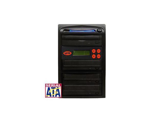 3 Target SATA 24X Burner DVD CD Duplicator