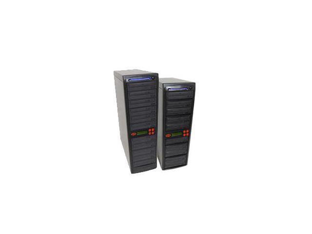 20 Target SATA Daisy Chain 24X Burner DVD CD Duplicator w/ 500GB HDD & USB Connection