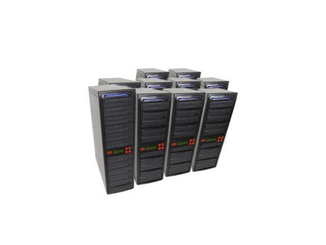 100 Target SATA Daisy Chain 24X Burner DVD CD Duplicator w/500GB HD and USB Connection