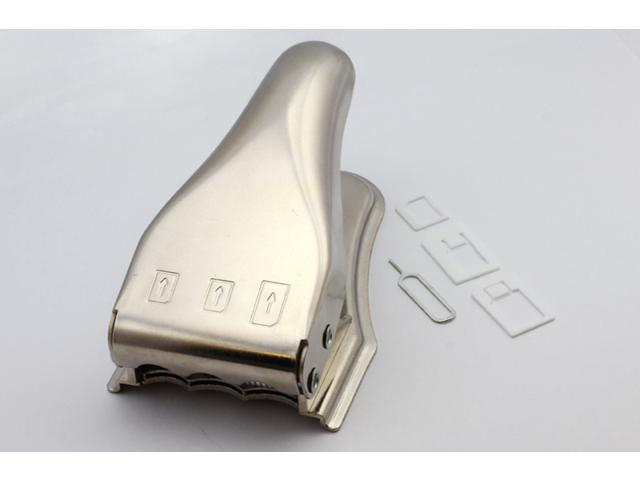 This SIM card cutter works with all the cellphone with Micro SIM card and Nano SIM card for iPhone.