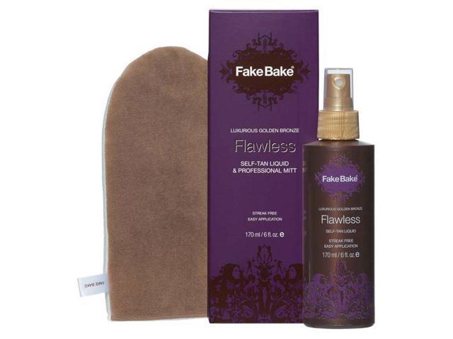Fake Bake Flawless Self-Tan Liquid & Professional Mitt