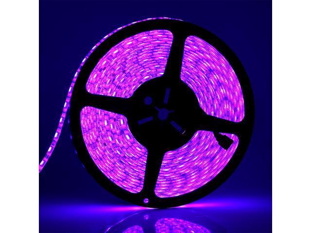 SUPERNIGHT 10m/33ft 5050 RGB Color Chnage Flexible LED Strip DC 24V 600LEDs/10M Festival Decorative LED Light Strips Color Changing LED Ribbon