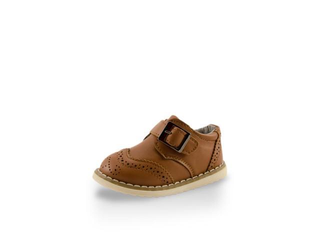 Adorable Baby Boy Leather Training Shoe With Buckle By Twinkie