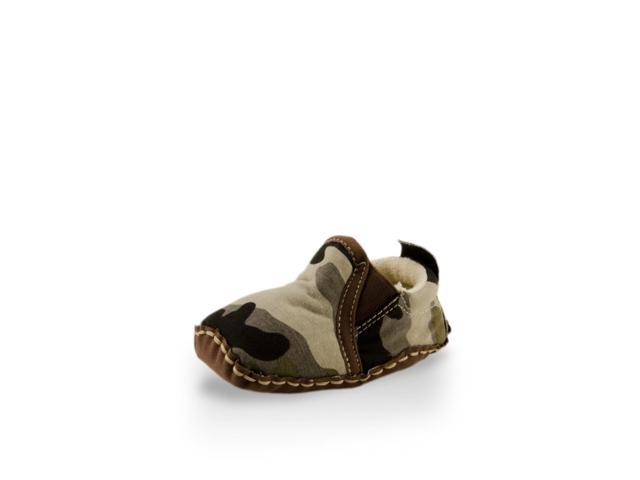 Baby Army Print Canvas Shoe
