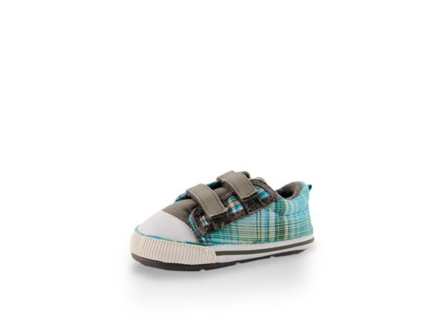 Baby's Day Out Blue Baby Canvas Shoe