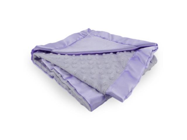 Soft Baby Blanket Gift Set Purple