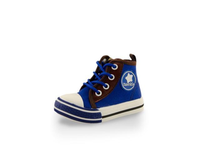 Toddler Boys' High Cuff Canvas Shoe