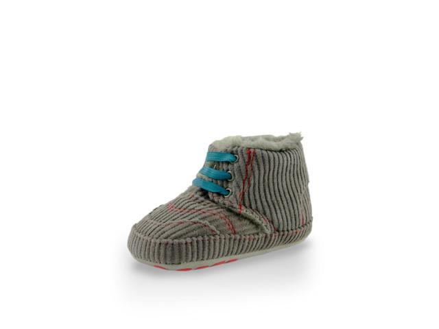 Twinkie High Cuff Gray Furry Friend Mini Training Shoe