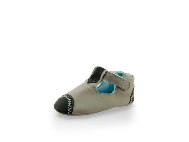 Twinkie Low Cuff Gray Sanded Textile Mini Training Shoe