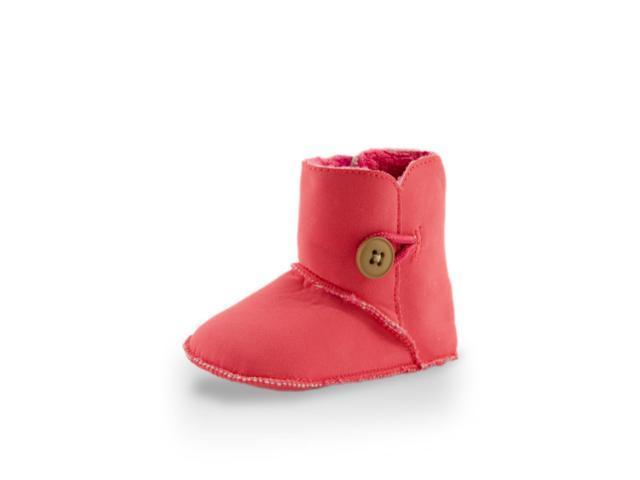 Baby Girl Beautiful High Cuff Fleece Ugg Style Boot By Twinkie