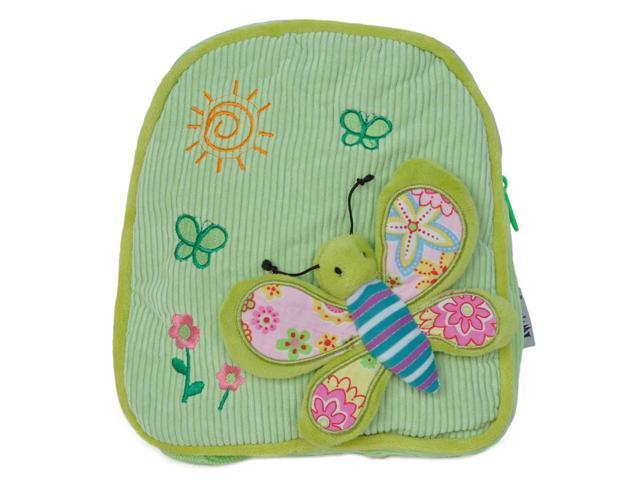 Girls 3D Butterfly Design Backpack Green
