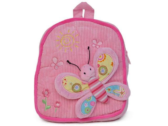 Girls 3D Butterfly Design Backpack Pink