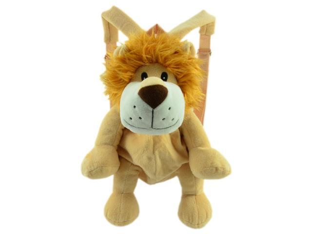 Yellow Larry Lion Design Backpack